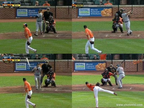 Hamels homer collage