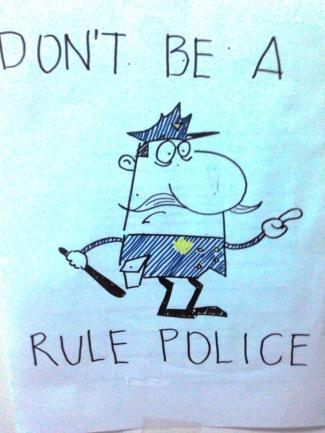 Rule police