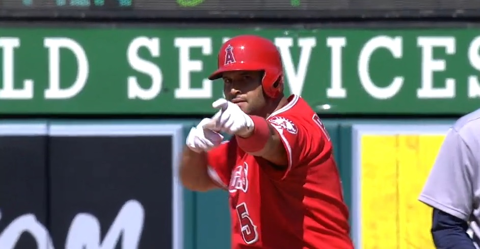 Pujols arrow
