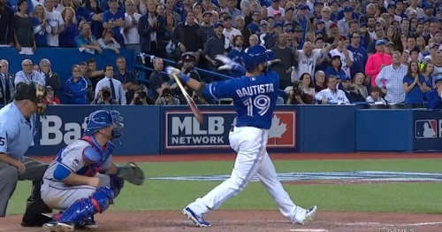 Bautista goes yard II