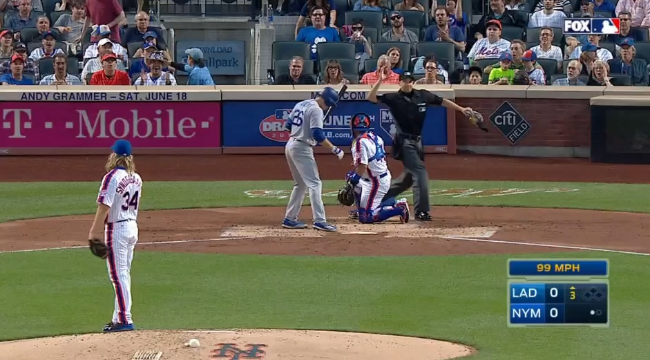 Syndergaard tossed