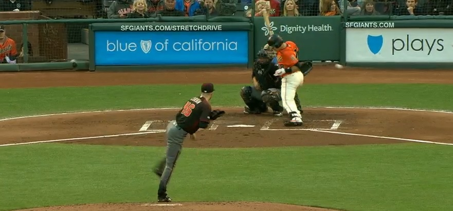 Posey avoids pitch