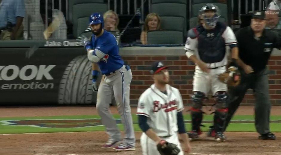 Bautista flips
