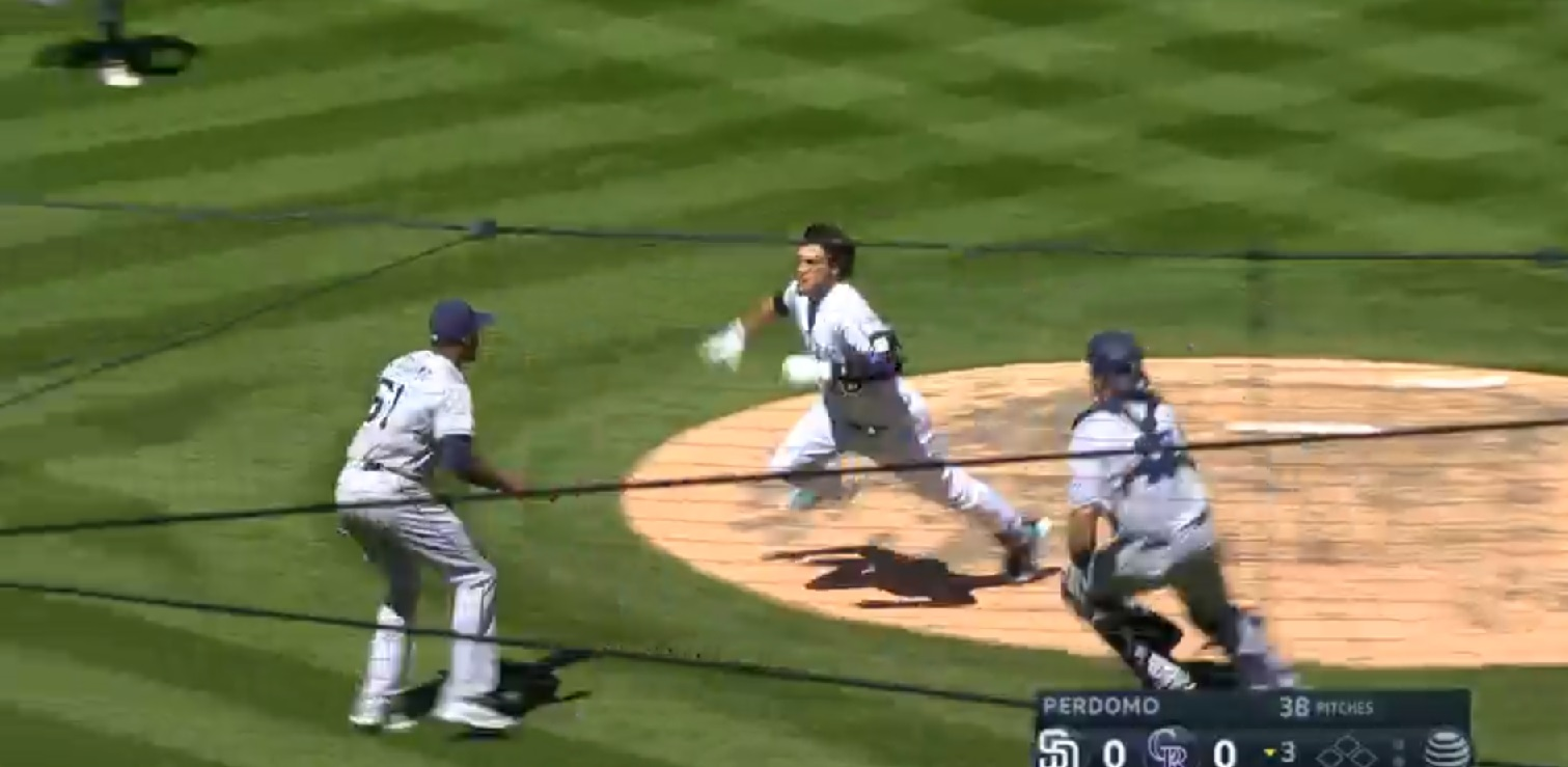 Arenado charges