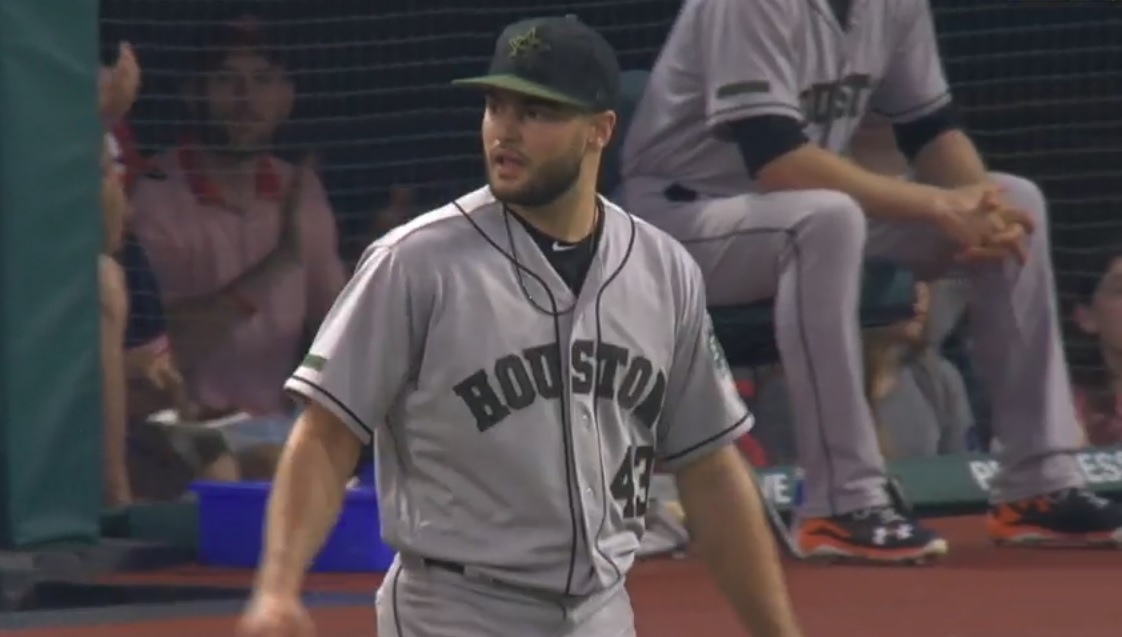 McCullers glares